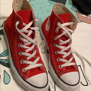 Red Converse Hightop's
